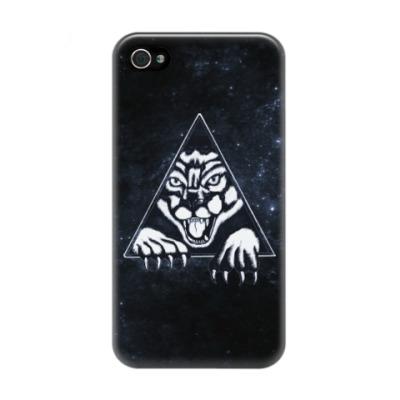 Чехол для iPhone 4/4s Пантера