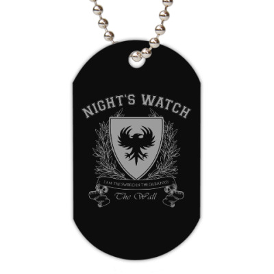 Жетон dog-tag Night's Watch