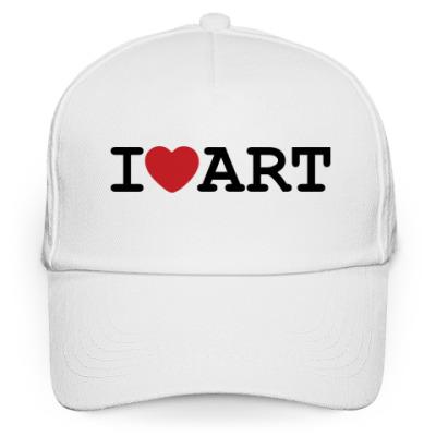 Кепка бейсболка Бейсболка I Love Art