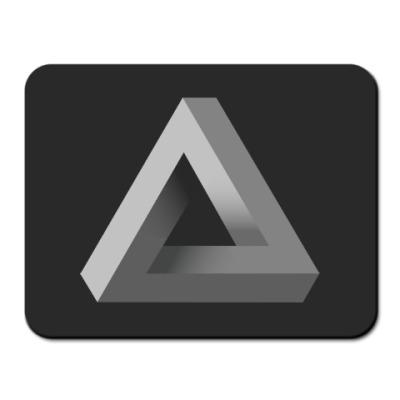 Коврик для мыши Невозможный Треугольник 3D