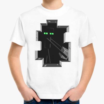 Детская футболка Enderman . Minecraft