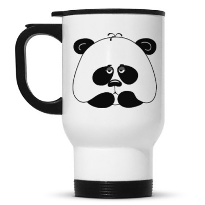 Кружка-термос Грустная панда