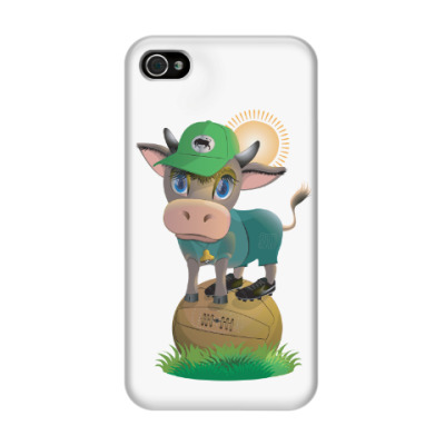 Чехол для iPhone 4/4s Вперед, краснодарский бычок!