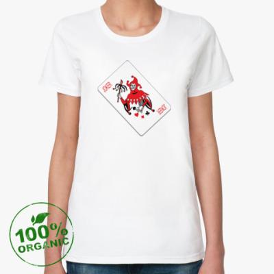 Женская футболка из органик-хлопка Джокер