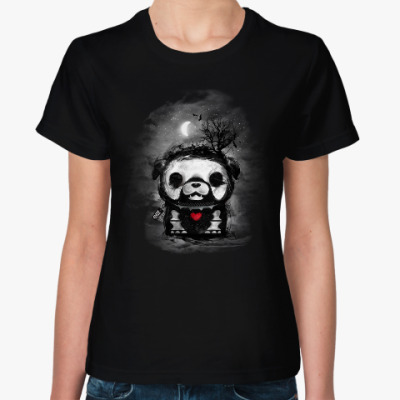 Женская футболка Ночной Макс