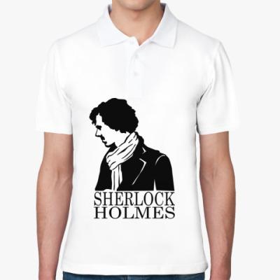 Рубашка поло Шерлок Холмс