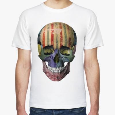 Футболка Grunge череп