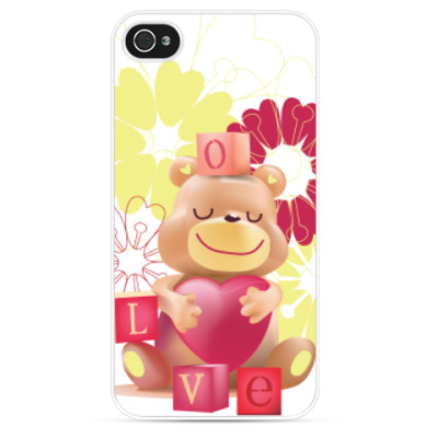 Чехол для iPhone Нежная любовь