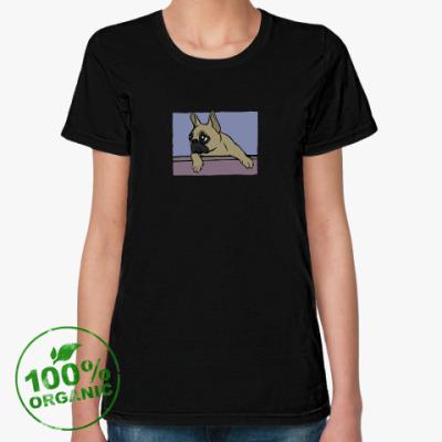 Женская футболка из органик-хлопка DOOSYA 2 T