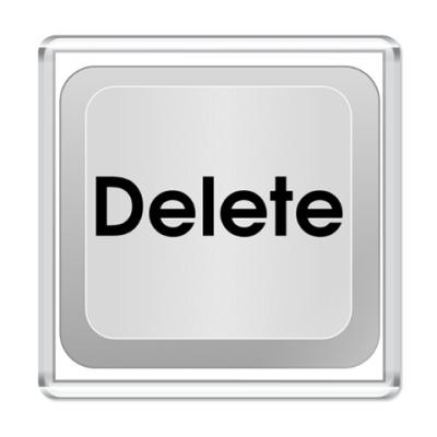 Магнит Кнопка Delete