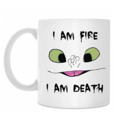 Кружка I Am Fire I Am Death
