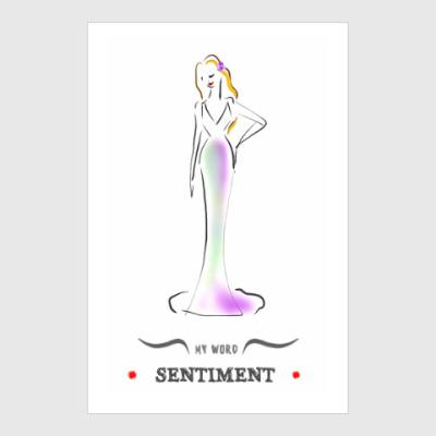 Постер Sentiment ( Чувство )