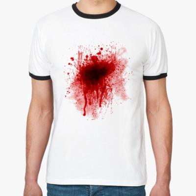 Футболка Ringer-T Кровь