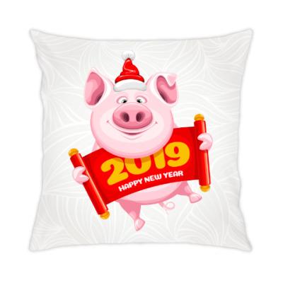 Подушка Символ 2019 года