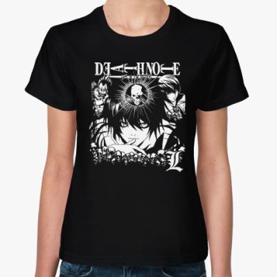 Женская футболка Тетрадь смерти