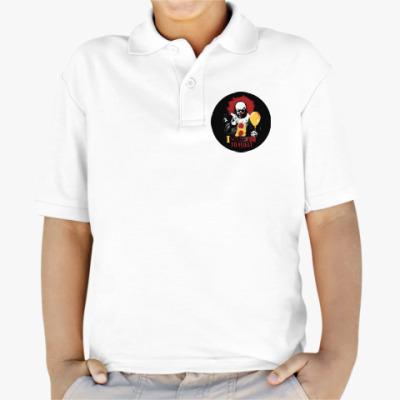 Детская рубашка поло Clown It by Stephen King