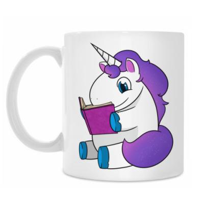 Кружка Reading Unicorn