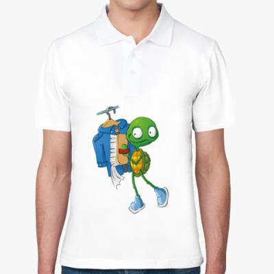 Рубашка поло Чистюля Черепашонок с щеткой