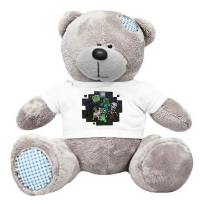 Плюшевый мишка Тедди Minecraft
