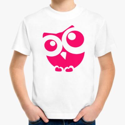 Детская футболка Сова, совушка, мудрые в городе