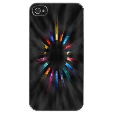 Чехол для iPhone Colors in the Dark