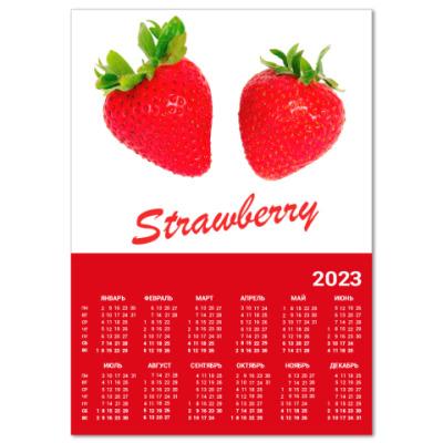 Календарь Клубника