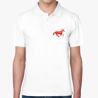 Рубашка поло Рубиновый Единорог
