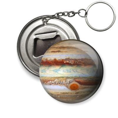 Брелок-открывашка Юпитер