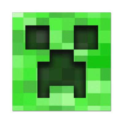 Наклейка (стикер) Minecraft Creeper