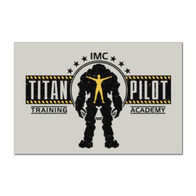 Наклейка (стикер) Battlefield Titan Pilot