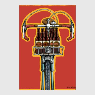 Постер Beer Cycle