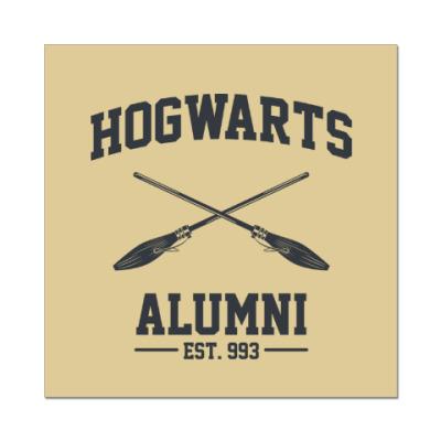 Наклейка (стикер) Hogwarts Alumni