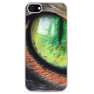 Чехол для iPhone Кошачий глаз