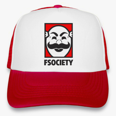 Кепка-тракер Mr Robot - fsociety - E Corp