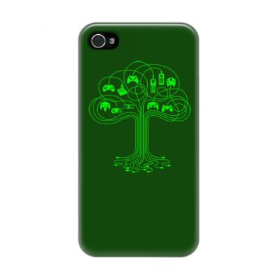 Чехол для iPhone 4/4s Геймер