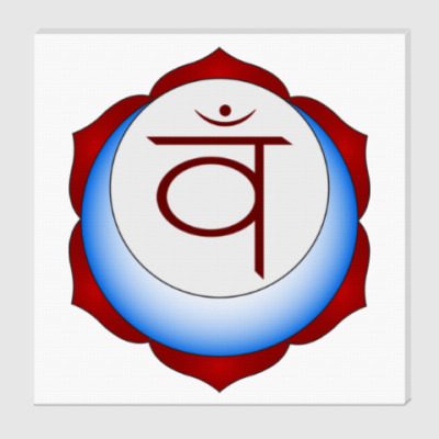Холст Янтра Свадхистана чакры