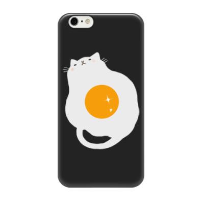 Чехол для iPhone 6/6s Кот-яичница
