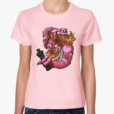 Женская футболка Fury