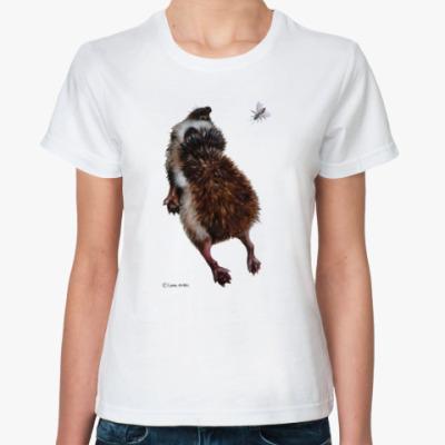 Классическая футболка Ежики тоже хотят летать