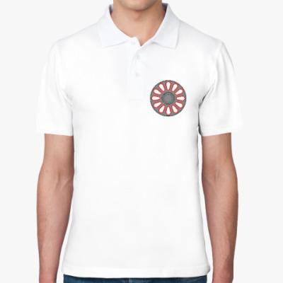 Рубашка поло Колесо электровоза ЧС-7.