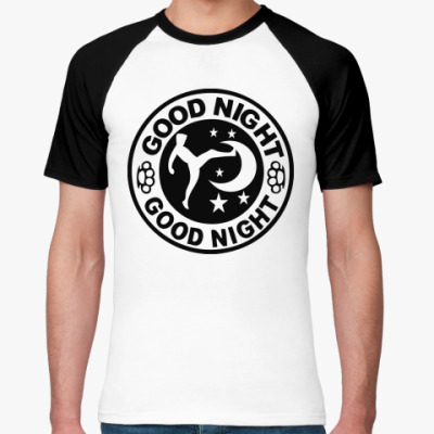 Футболка реглан ' good night'
