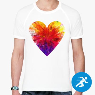 Спортивная футболка Сердечко