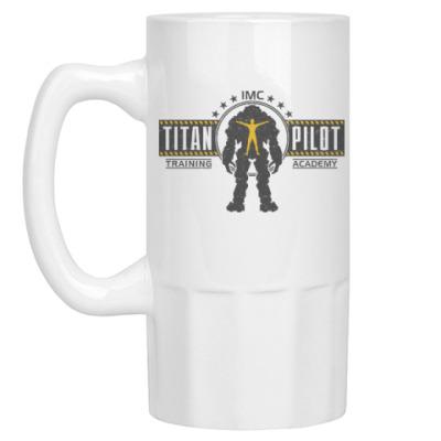 Пивная кружка Battlefield Titan Pilot
