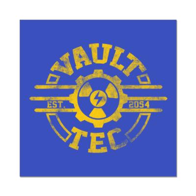 Наклейка (стикер) Fallout. Vault-Tec
