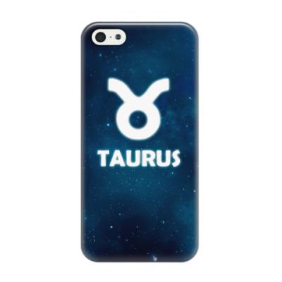 Чехол для iPhone 5/5s Знак зодиака. Телец