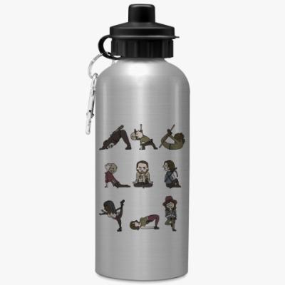 Спортивная бутылка/фляжка The Walking Dead Йога