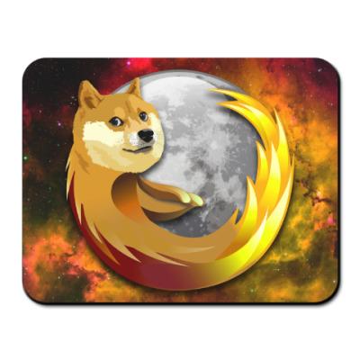 Коврик для мыши Doge Firefox