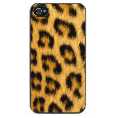 Чехол для iPhone Leopard