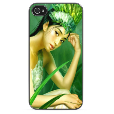 Чехол для iPhone Райская птичка