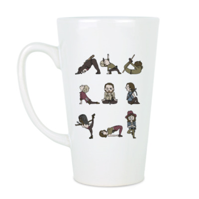 Чашка Латте The Walking Dead Йога